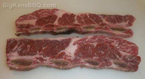Flanken beef short ribs